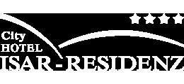 Logo des City Hotel ISAR-RESIDENZ, 4-Sterne-Hotel im Zentrum von Landshut